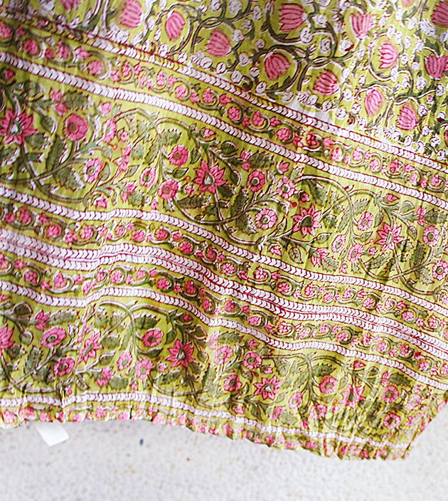 木印長巾.鬱金香 2