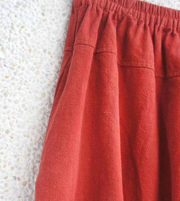 遊走寬褲裙 4