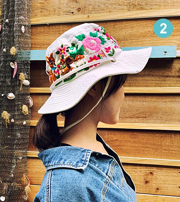 手繡漁夫帽 2