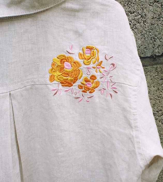 我愛嬉皮繡花衫 7