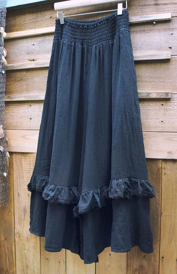 毛球大寬褲裙 5