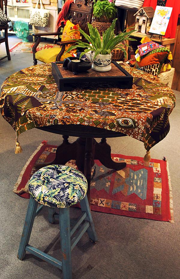 非洲傢飾布 2