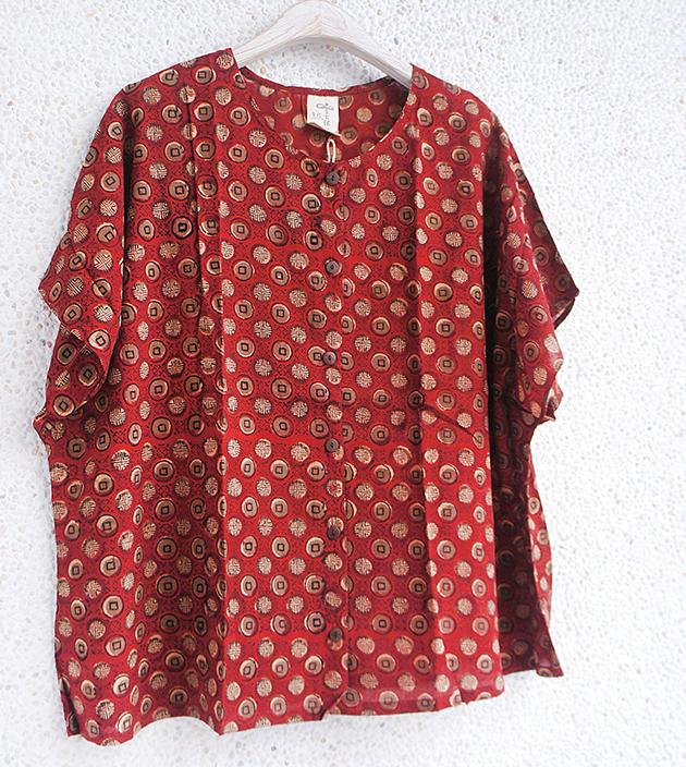 午茶棉扣外罩衫 3