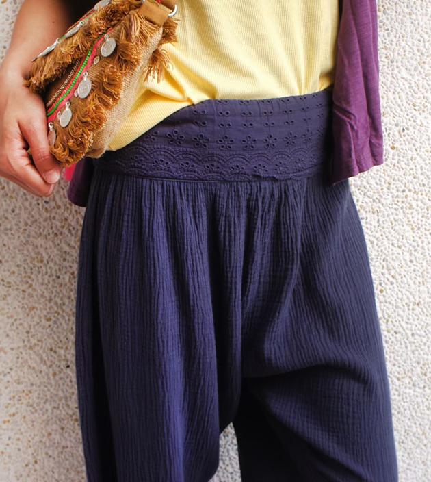 花腰帶瑜珈褲 5
